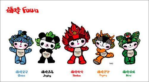 又简单又好看的春节福娃简笔画原创教程步骤 - 5068儿童网