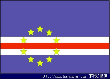 喀麦隆国旗矢量图