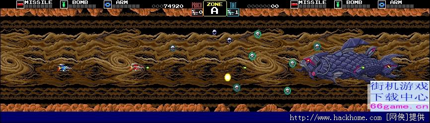 横版射击游戏四大系列之三DARIUS系列回顾[多图]图片3