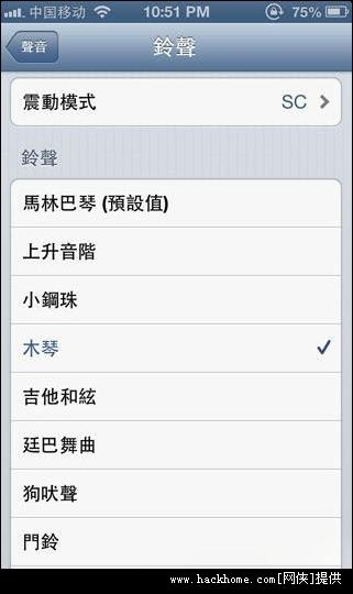 苹果iPhone5手机来电振动模式怎么设置