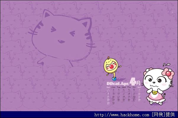 超萌超可爱叮当猫2012年日历壁纸