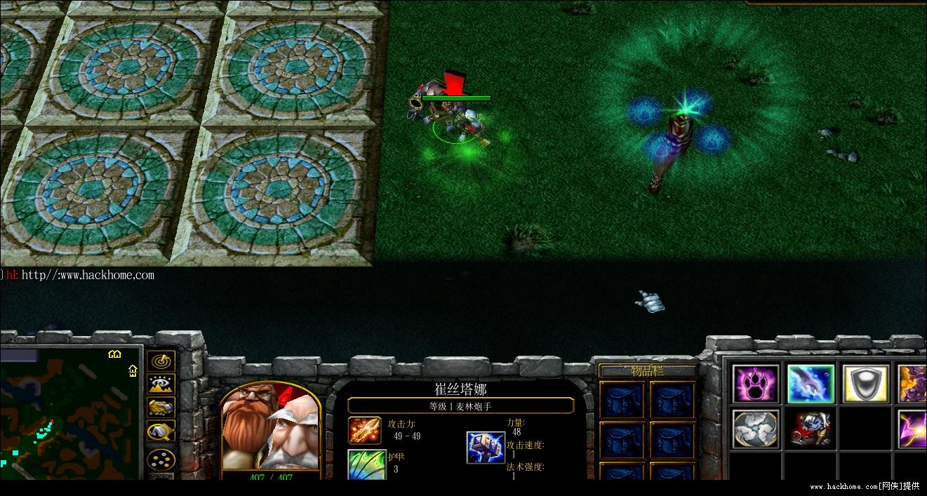 魔兽争霸仿英雄联盟lol 对抗类地图 v1.0 绿色版