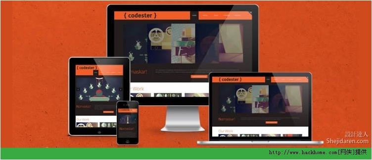 2013国外优秀响应式设计HTML5网站模板大全下载[多图]图片3