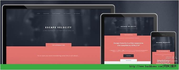 2013国外优秀响应式设计HTML5网站模板大全下载[多图]图片5