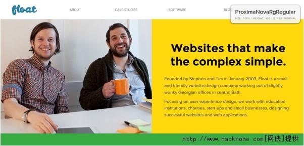 怎样给扁平化风格的网站选择合适的字体呢?[多图]图片1