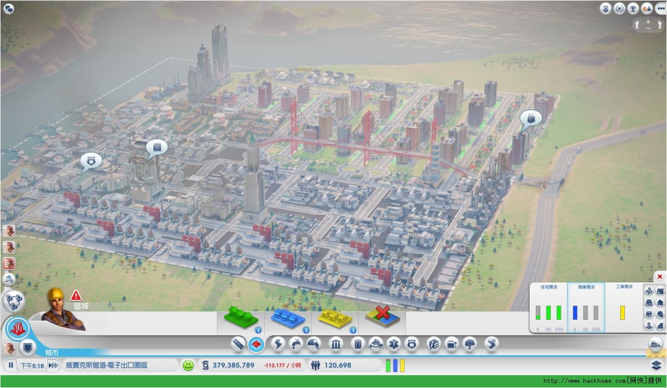 电脑模拟城市5设计图