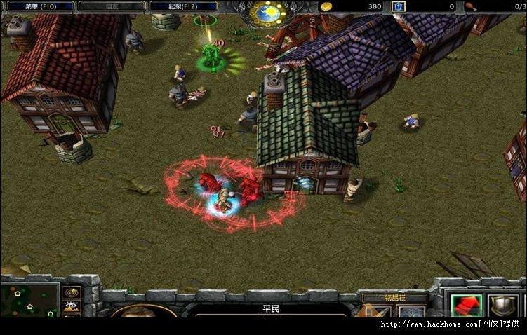 魔兽对抗休闲地图 魔法小镇 v1.4 - 游戏截图