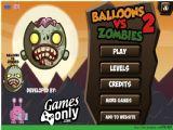 《气球枪战僵尸2》 Balloons Vs Zombies 2 pc单机版 绿色版