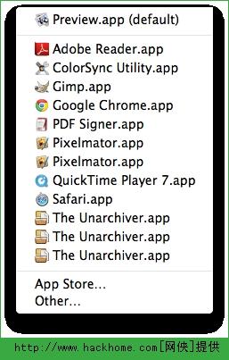 Mac系统删除右键菜单重复项目图文教程[多图]图片1_嗨客手机站