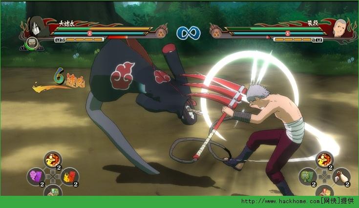 《火影忍者疾风传:究极忍者风暴-革命》Xbox360版