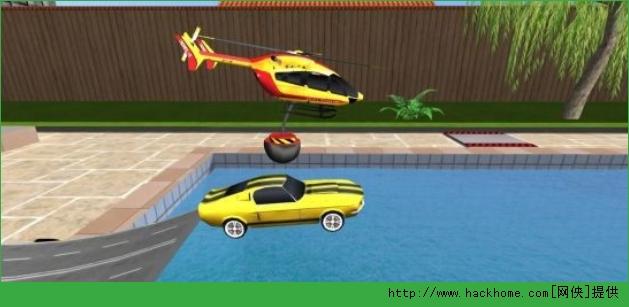 《3B号直升机(Helidroid 3B)》是一款模拟类直升机驾驶类手机游戏,在游戏中玩家需要遥控Skylift直升机来移动物体与电磁铁。或选择遥控阿帕奇和科曼奇遥控直升机发射火箭和打击。游戏背景发生在你的后院。你需要驾驶你的直升机完成各种奇奇怪怪却贴近我们生活的任务,喜欢直升机操控游戏的朋友可以下载体验~