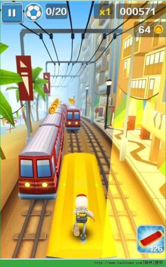 ...载地铁跑酷开罗无限金币安卓破解版 v2.23.0 网侠手机游戏站