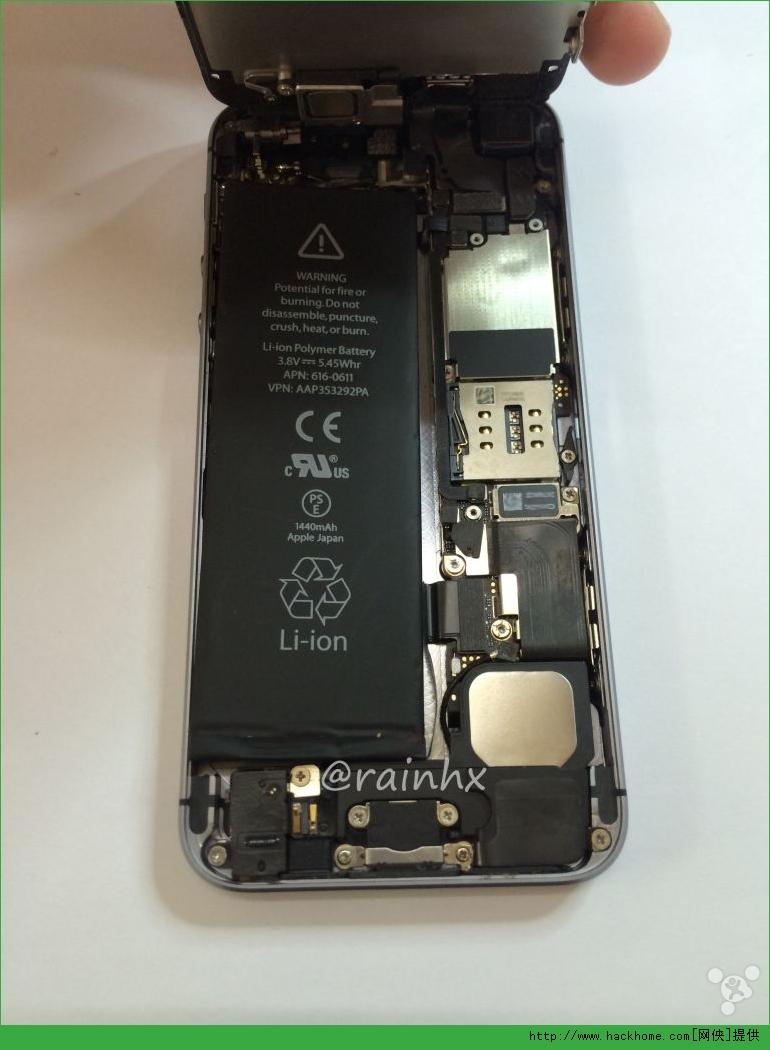 苹果iphone5自己动手改造成iphone5s后盖详细图文