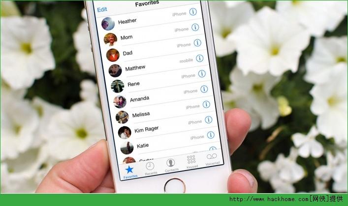苹果iphone ios系统给联系人添加头像图文教程[多图]图片1