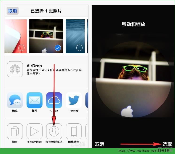 苹果iphone ios系统给联系人添加头像图文教程[多图]图片3