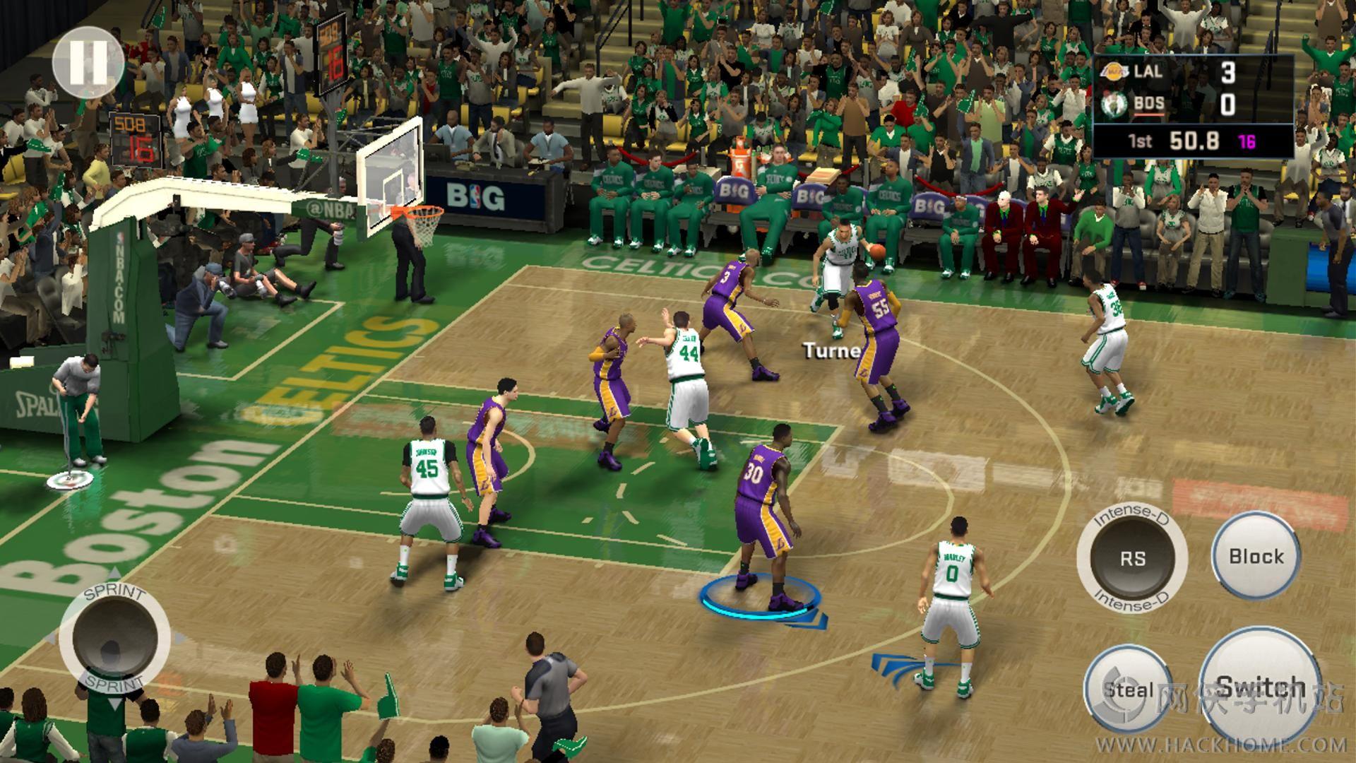 NBA 2K16手机版官网中文版图1: