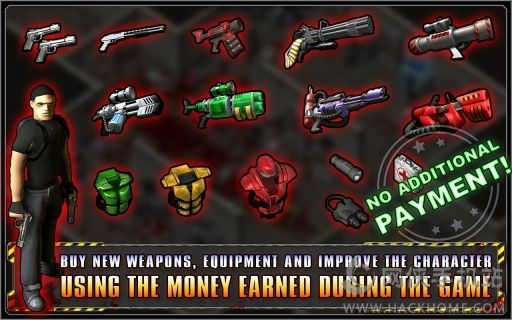 孤胆枪手2游戏手机版(Alien Shooter 2)图1: