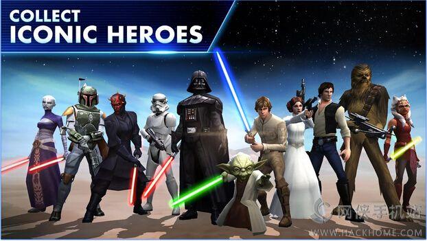 星球大战银河英雄传手游官网iOS版图1: