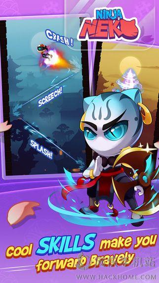 忍者猫安卓游戏手机版(Ninja Neko)图3: