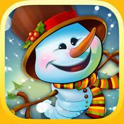 冬季游戏最高的雪人