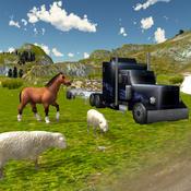 模拟农场动物运输卡车3D