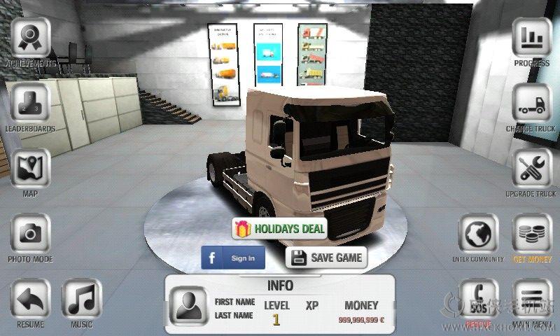 欧洲卡车模拟32016最新官方手机版下载(Euro Truck Simulator 3)图3: