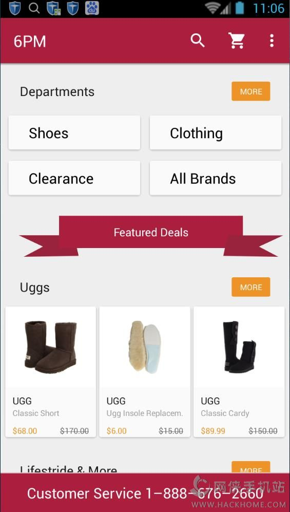 With such a huge variety of brand names, you won't need to look elsewhere to satisfy your cravings. Appease your shopping urges by saving on all the high-quality brand names you love. Score on the Style, Score on the Price at herelfilesvj4.cf! Download the 6pm mobile app and give it a try!!