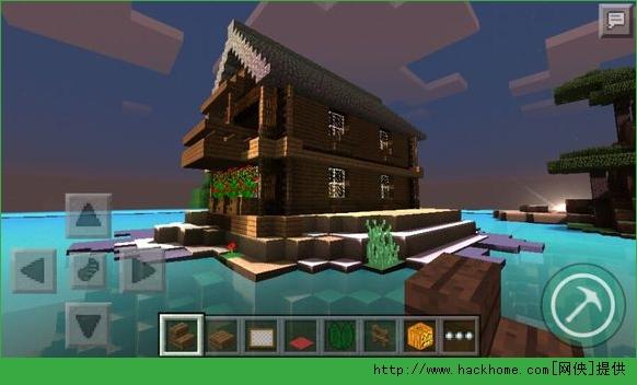 我的世界手机版0.12.1,首先你得造好一个属于自己安生的窝,今天小编为大家分享别具一格的水上别墅的教程及存档,室内的豪华布置及合理摆放是亮点! 室外:        室内: 这是一楼     这是二楼     这是三楼,顶楼,那个是室内温泉(我也不知道,就暂时这样叫吧)         这是负一楼,本想用来做附魔的地方,可惜没有附魔台