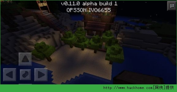 我的世界手机版0.11.0孤岛村庄地图存档