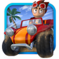 沙滩车闪电战中文无限金币iOS破解版存档(Beach Buggy Blitz) v1.3.15
