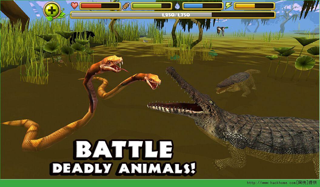 鳄鱼模拟器汉化中文版图4: