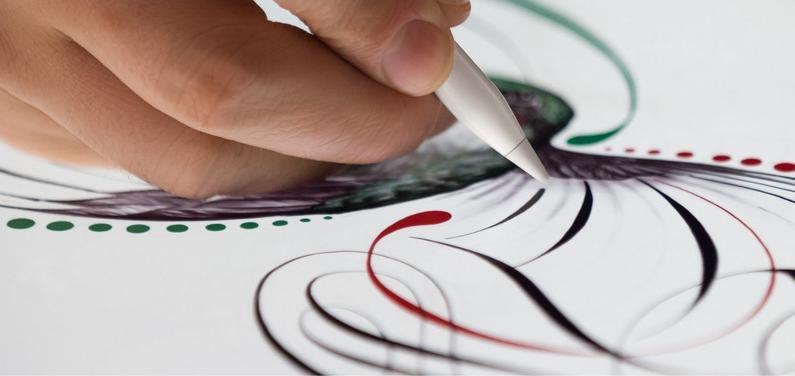 苹果笔Apple Pencil粗细深浅写法技巧[多图]