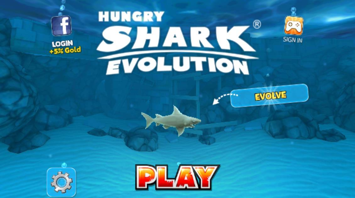 饥饿鲨进化评测:消灭所有的小鱼[多图]