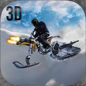 超级雪地自行车疯狂摩托骑手3D