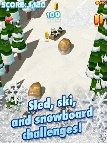 图德尔的雪橇游戏下载手机版图1: