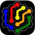 彩球连接六边形游戏手机版(flow flee hexes) v1.0