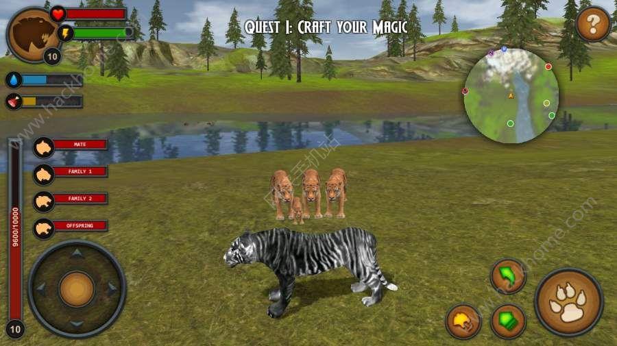 林中之虎中文无限内购破解版(Tigers of the Forest)图4: