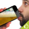 手机进啤酒