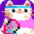 糖果猫网球游戏