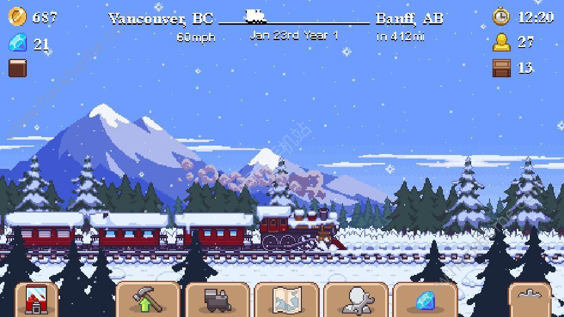 小小火车游戏中文汉化安卓版(Tiny Rails)图2: