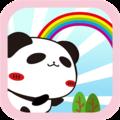 熊猫肥肥跳跃