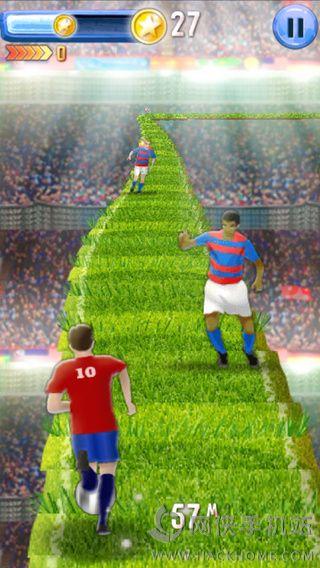 3D足球跑酷游戏下载,3D足球跑酷手机游戏 v2.0 网侠苹果游戏站