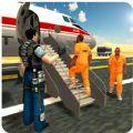 警方飞机运输监狱