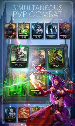 纸牌风暴决斗的守护者官方IOS版(Deckstorm Duel of Guardians)图3: