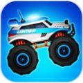 怪物卡车警察赛车无限金币中文破解版(Monster Truck Police Racing) v1.0