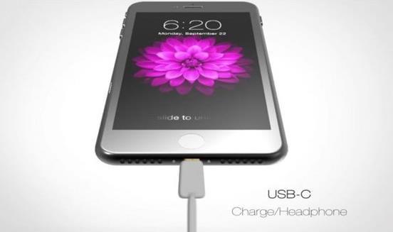 苹果iPhone7s Plus概念设计已出:新增USB-C接口[多图]