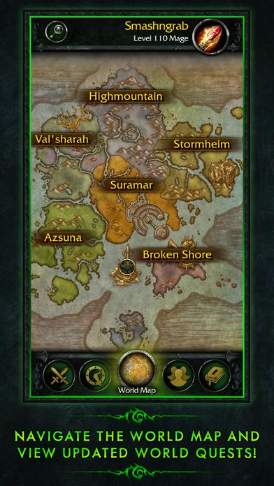 魔兽世界随身app ios图5