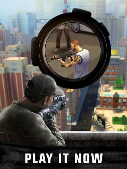 狙击3D刺客射击游戏中文汉化版下载(Sniper 3D)图3: