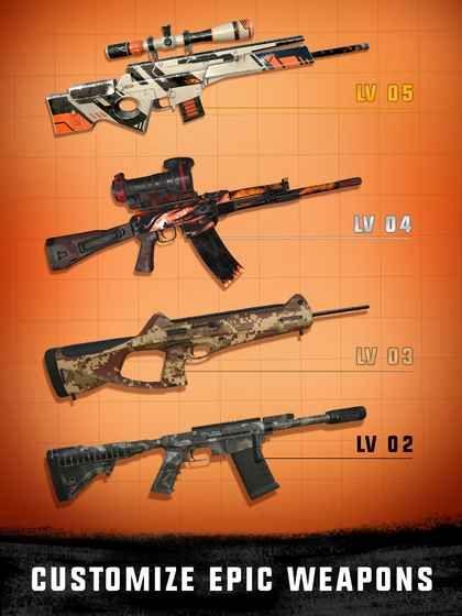 狙击3D刺客射击游戏中文汉化版下载(Sniper 3D)图1: