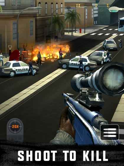 狙击3D刺客射击游戏中文汉化版下载(Sniper 3D)图5: